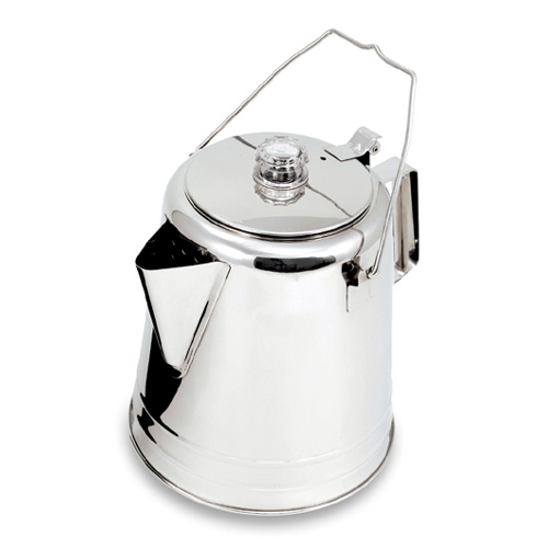 GSI ステンレス コニカル パーコレーター 28CUP [コーヒーメーカー][調理器具][アウトドア用品][クッキング用品][キャンプ用品]