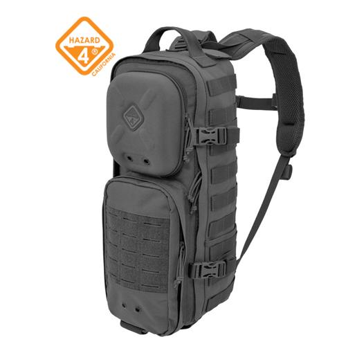 ハザード4 Hazard4 Plan-C Dual Strap Slim Daypack BK