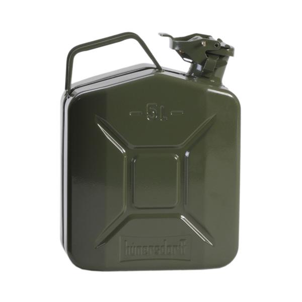 ヒューナースドルフ Hunersdorff Metal Kanister CLASSIC 5L Olive