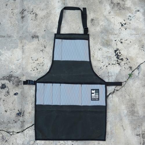 インサイドラインエキップメント INSIDELINEEQUIPMENT apron waxed forest/x-pac grey [エプロン][ワックスドフォレスト][グレー]