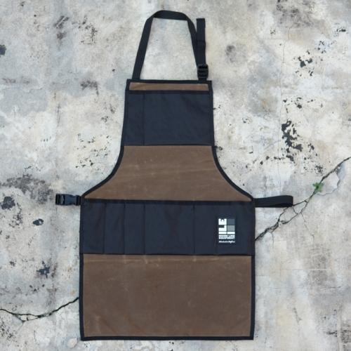 インサイドラインエキップメント INSIDELINEEQUIPMENT apron waxed tan/x-pac black [エプロン][ワックスドタン][ブラック]