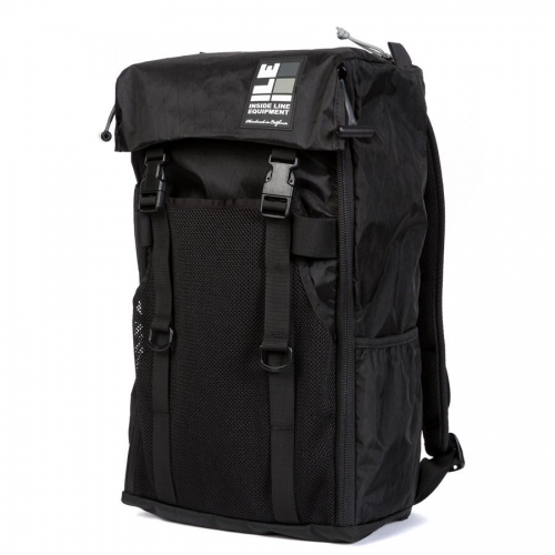 インサイドラインエキップメント INSIDELINEEQUIPMENT race day bag x-pac black [レースデイバッグ][ブラック][21L]