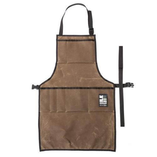 インサイドラインエキップメント INSIDELINEEQUIPMENT apron waxed tan [エプロン][ワックスドタン]