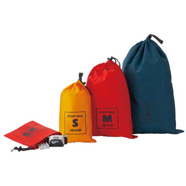 公式ストア 防水コーティング加工されたナイロンを使用したシンプルなスタッフバッグ イスカ ISUKA L スタッフバッグ ☆新作入荷☆新品 インディゴ