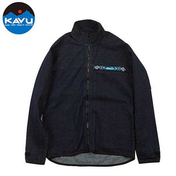 カブー KAVU F/Z スローシャツ Denim [スローシャツ][ロングスリーブ][フルジップ]