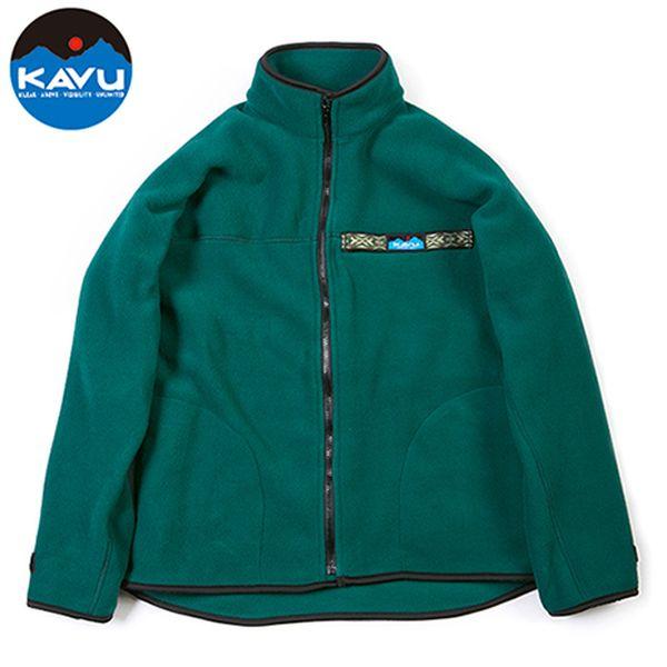 カブー KAVU フリース F/Z スローシャツ フォレスト [スローシャツ][ロングスリーブ][フリース][7/26 9:59まで ポイント10倍]