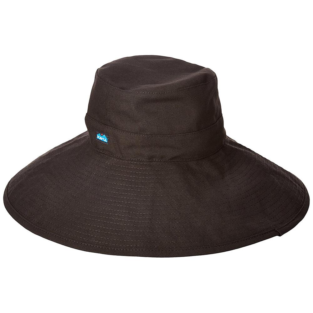 カブー KAVU ロングブリム Black [ブリムハット][帽子][ブラック]