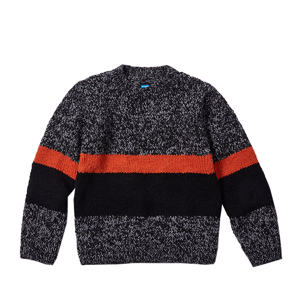 【vic2セール】 カブー KAVU Smokey Bear Sweater Gry Mix