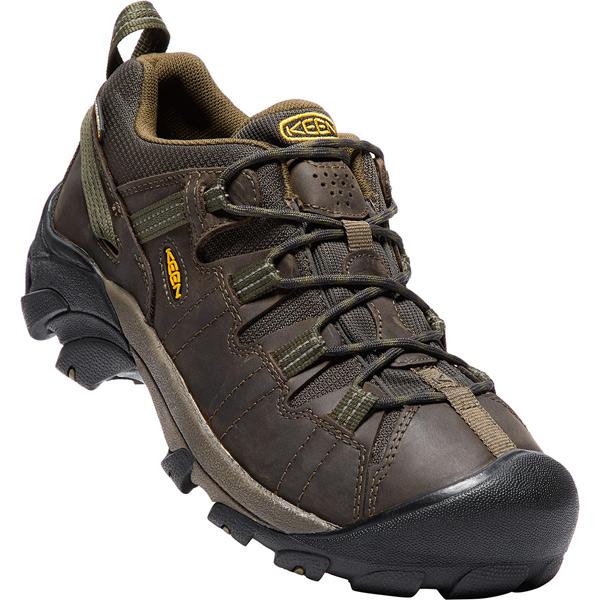 キーン KEEN Mens Targhee II WP Canteen/Dark Olive [ターギー2ミッド][ウォータープルーフ][防水][メンズ][トレッキングシューズ][登山靴][3/4 9:59まで ポイント10倍]