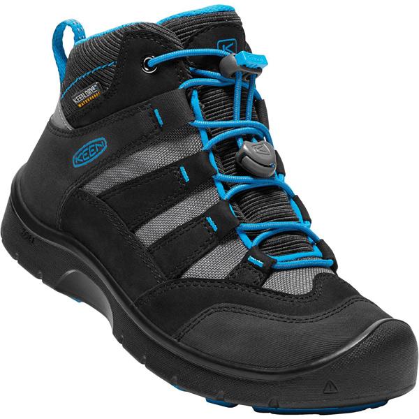 キーン KEEN Youth Hikeport Mid WP Black/Blue Jewel [ハイクポートミッド][防水][冬用ブーツ][レインブーツ][キッズ][子供用][20cm21cm22cm22.5cm23.5cm][1/18 9:59まで ポイント10倍]