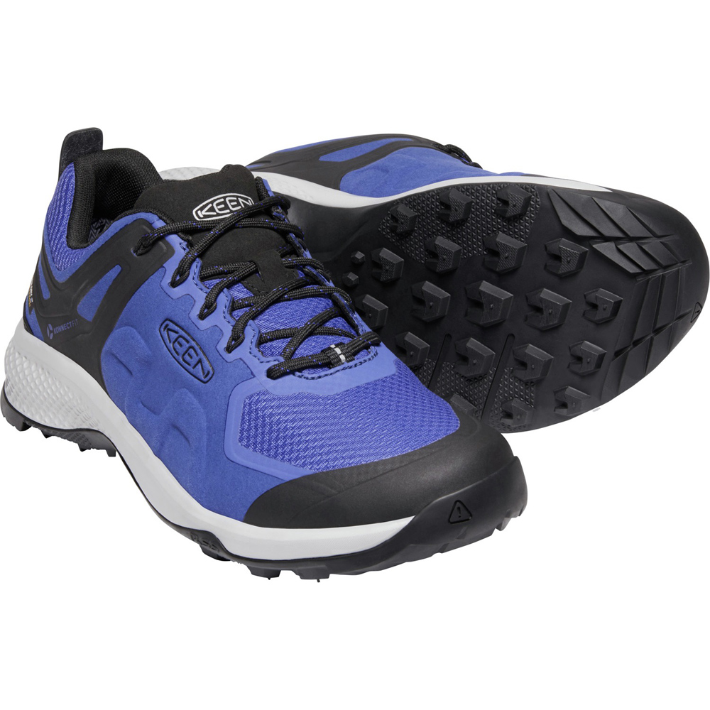 キーン KEEN Mens Explore WP Mazarine Blue/Black [2019年新作]
