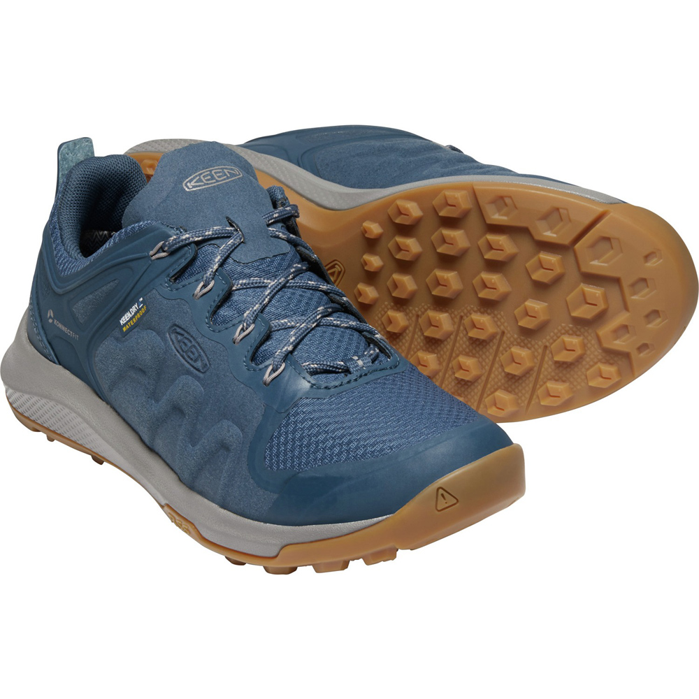 キーン KEEN Womens Explore WP Majolica Blue/Satellite [1022024]