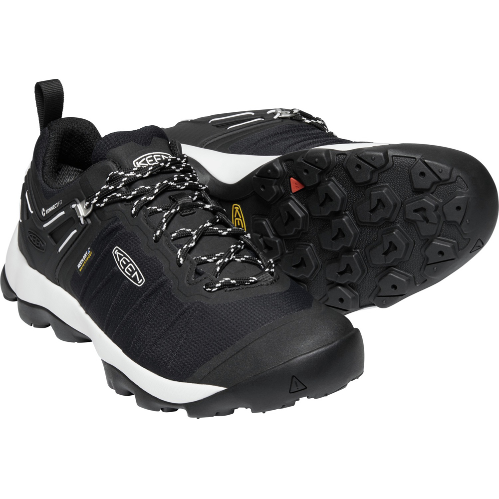 キーン KEEN Mens Venture WP Black/Star White [2019年新作]