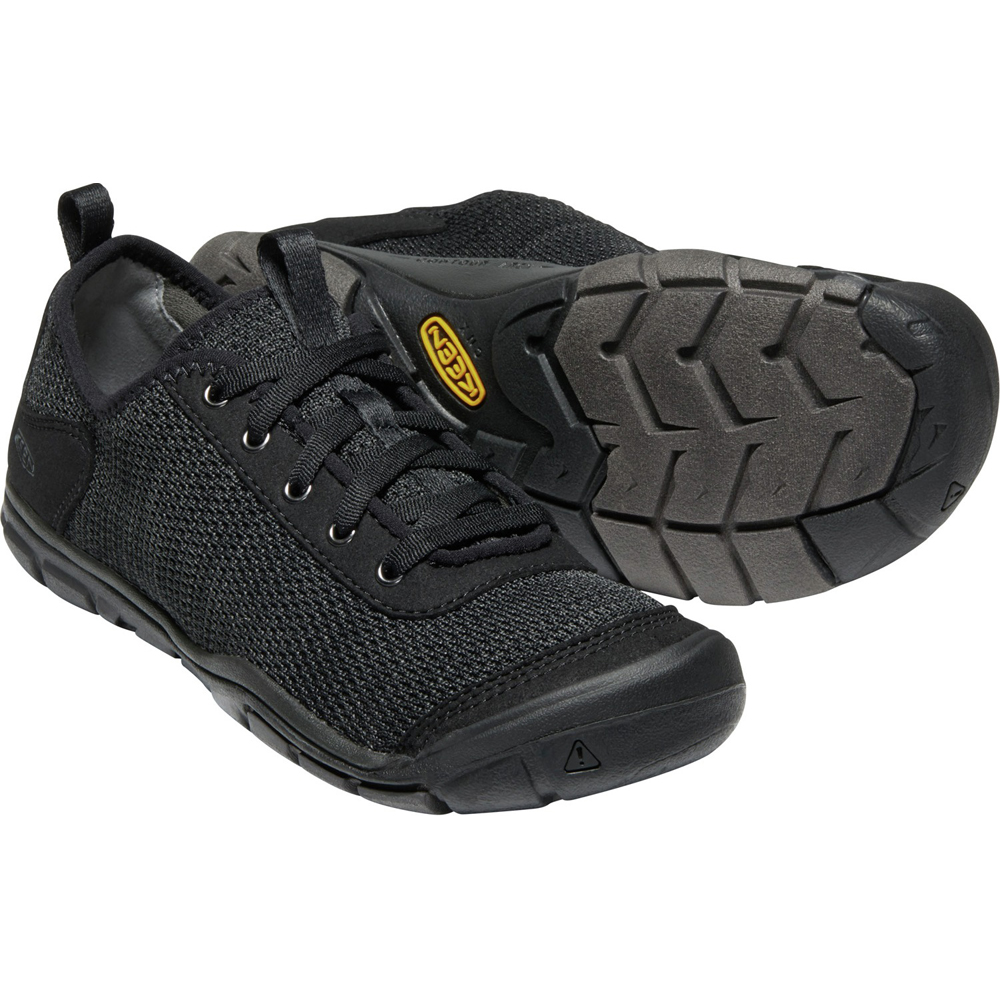 キーン KEEN Womens Hush Knit CNX Black/Raven [2019年新作]