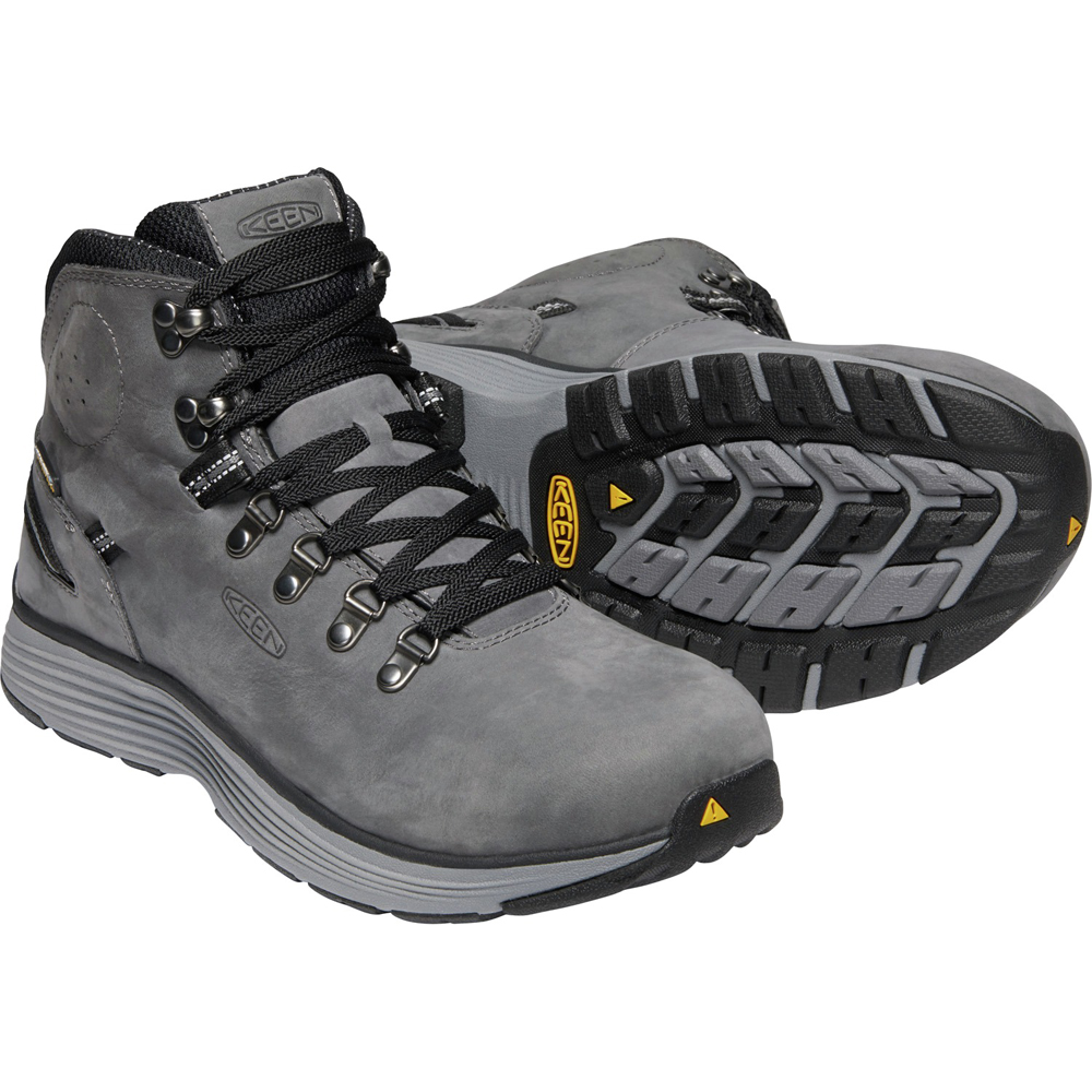 キーン KEEN Mens Manchester 6 WP Forged Iron/Black [2019年新作][7/26 9:59まで ポイント10倍]