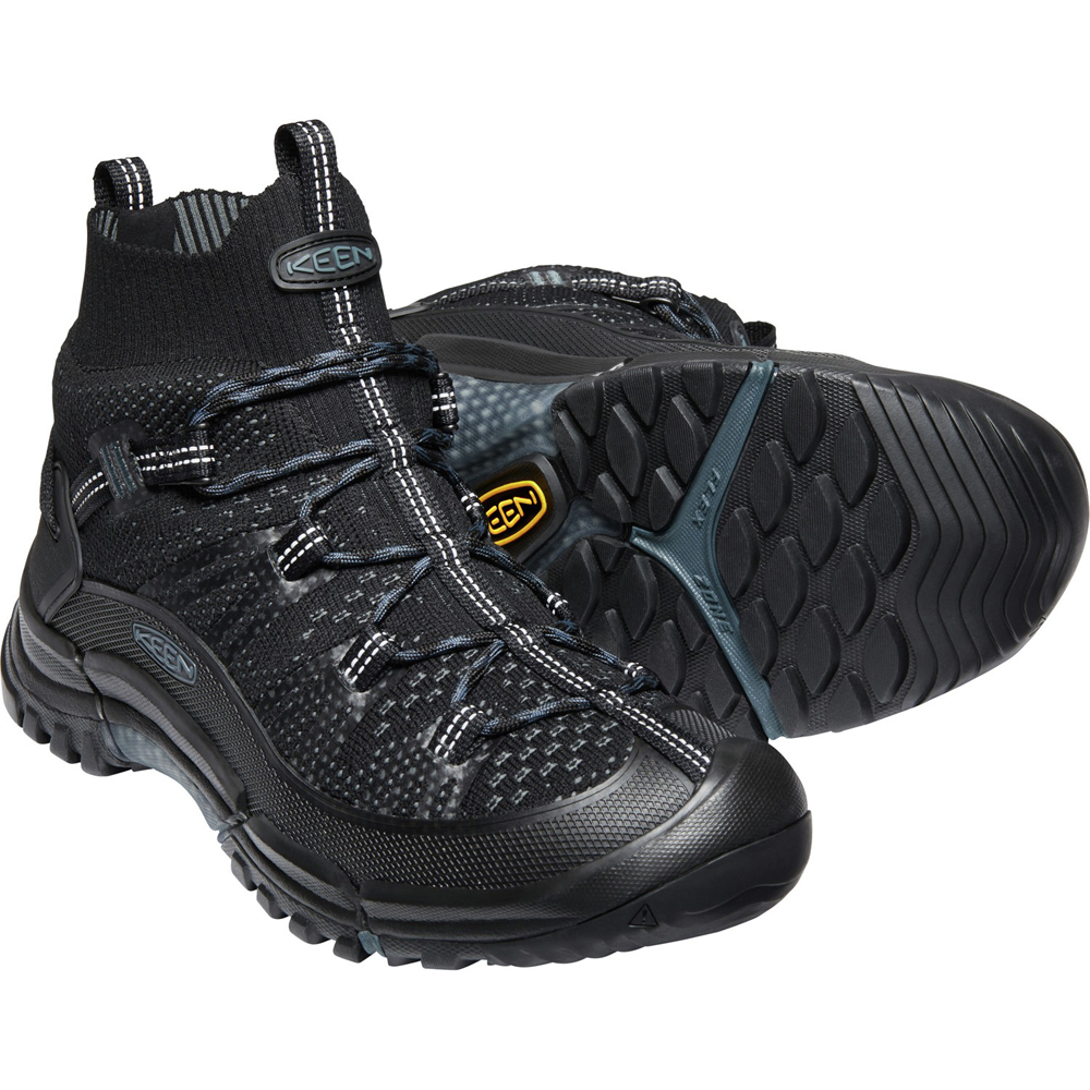 キーン KEEN Mens Axis Evo Mid Black/Slate [1021178]