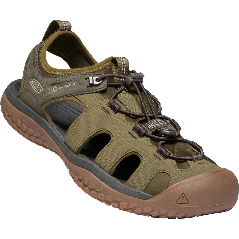 キーン KEEN Mens Solr Sandal Dark Olive/Taupe [1022432][2020年新作]
