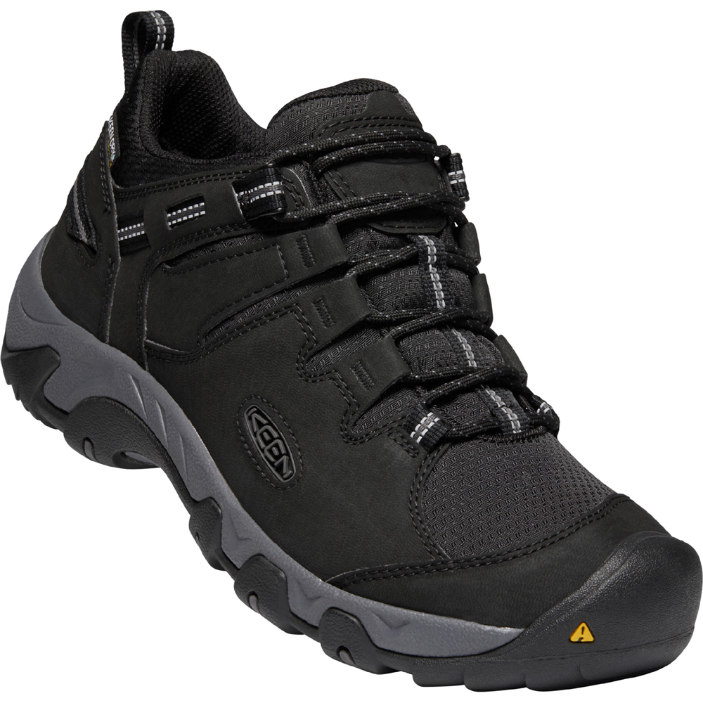 キーン KEEN Mens Steens WP Syn Black/Magnet [1022749][2020年新作]