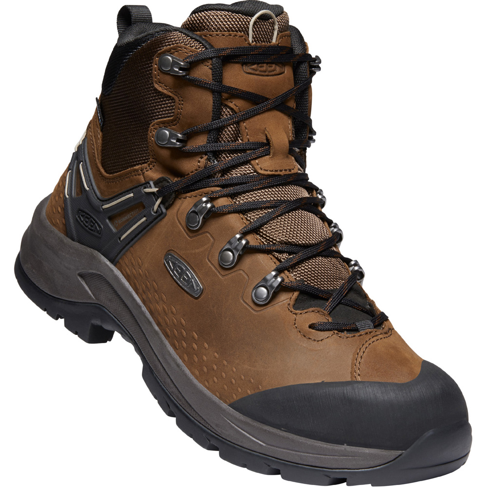キーン KEEN Mens Wild Sky Mid WP Dark Earth/Black [1022531][2020年新作]
