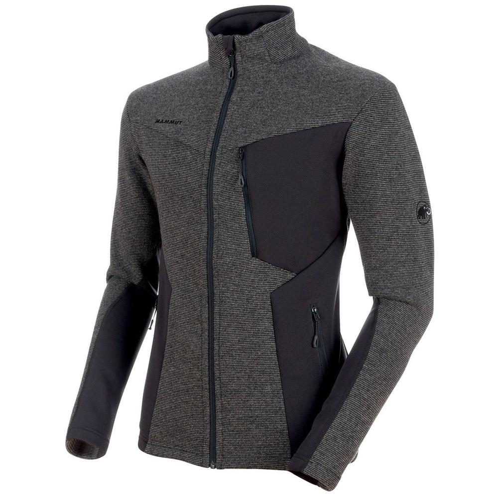 マムート MAMMUT Mens Stoney ML Wool Jacket phantom-titanium melange[7/26 9:59まで ポイント10倍]
