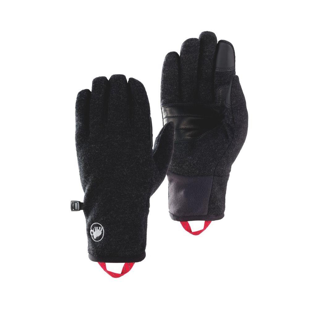 マムート MAMMUT Passion Glove black melange [パッショングローブ][ブラックメレンゲ]