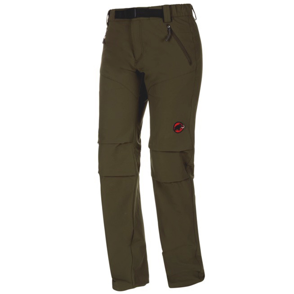 マムート MAMMUT SOFtech TREKKERS Pants Women Dark Olive (4023) [1020-09770][2019年新作]