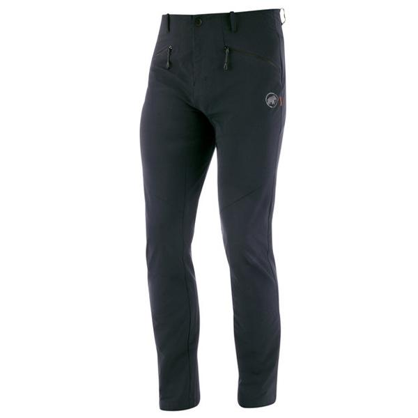 マムート MAMMUT Mens Trekkers 2.0 Pants AF Black [トレッカーズ2.0パンツ][メンズ][1021-00410]