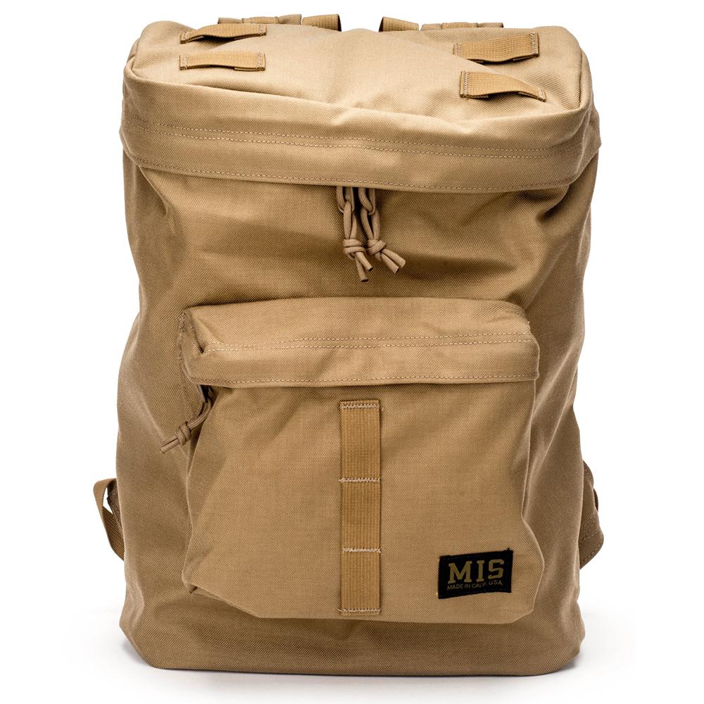 エムアイエス MIS Backpack Coyote Brown [コヨーテブラウン][4/8 9:59まで ポイント5倍]