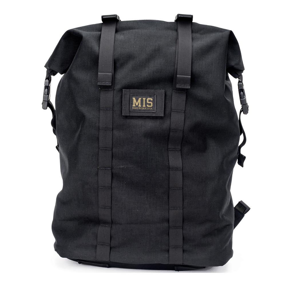 エムアイエス MIS Roll Up Backpack Black [ブラック]
