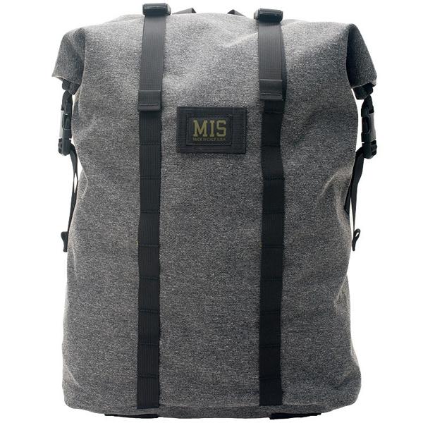 エムアイエス MIS Roll Up Backpack Denimcodura [デニムコーデュラ][4/8 9:59まで ポイント5倍]