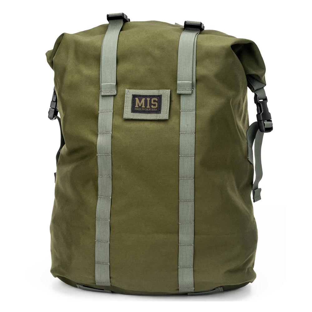 エムアイエス MIS Roll Up Backpack Olive Drab [オリーブドラブ][7/26 9:59まで ポイント10倍]