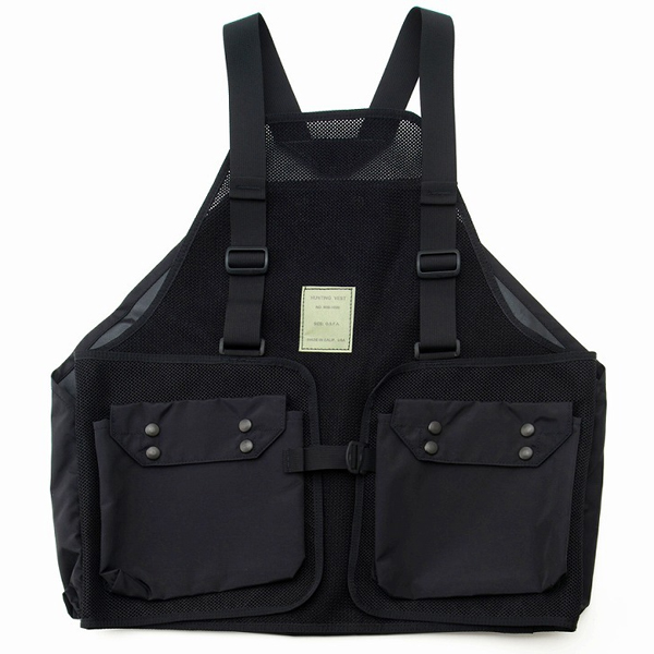 エムアイエス MIS Hunting Hunting Vest [2019年新作] Vest Black [2019年新作], 葛飾柴又の食品問屋グレイト:a99e7947 --- sunward.msk.ru