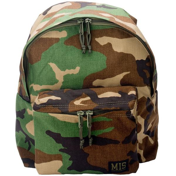 エムアイエス MIS Daypack Cordura1000D Woodland Camo [MIS-C103]