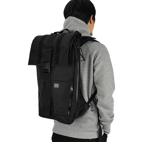 MISSIONWORKSHOP ミッションワーク 店的藍巴勒海峽黑 [藍巴勒海峽黑色] 和 [背包]