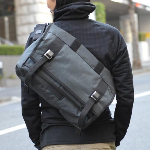 ミッションワークショップ MISSION WORKSHOP VX Messenger Bags AP Series The Monty Slate [モンティ][メッセンジャーバッグ][斜めがけ][自転車][カバン][8/10 13:59まで ポイント5倍]