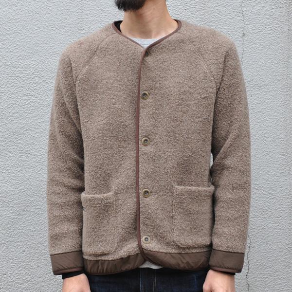 マウンテンエクイップメント Mountain equipment Wool Boa Cardigan Greige [2018年新作] [11/12 9:59まで ポイント2倍]
