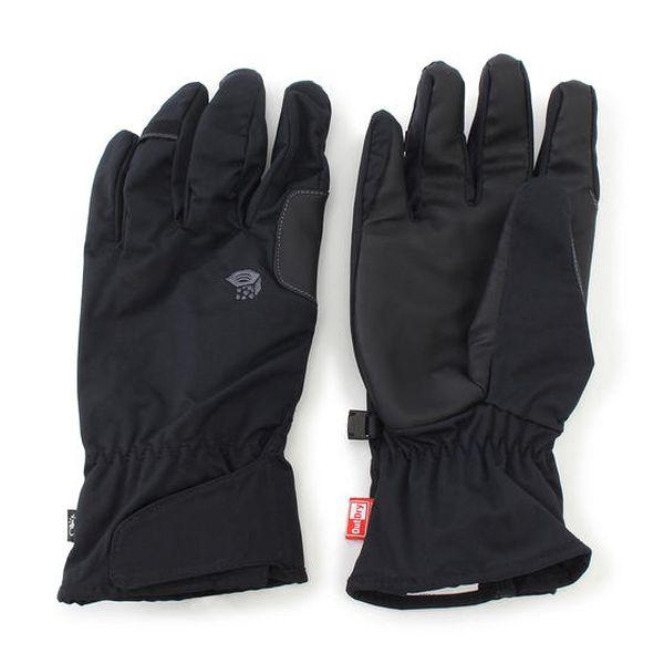マウンテンハードウェア MOUNTAIN HARDWEAR Plasmic Outdry Glove Black [プラズミックアウトドライグローブ][防水][レイングローブ][OM0032][2018年春夏新作][8/10 13:59まで ポイント10倍]
