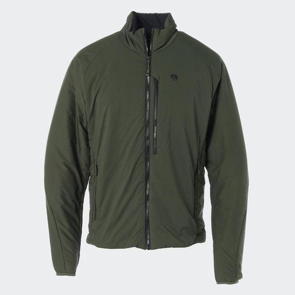 マウンテンハードウェア MOUNTAIN HARDWEAR Mens コアストラータジャケット Surplus Green [2018年新作]