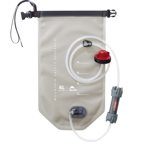 MSR AUTOFLOW グラビティーマイクロフィルター 4L [オートフロー][浄水システム][自動落下式][ポンピング不要][8/24 13:59まで ポイント3倍]