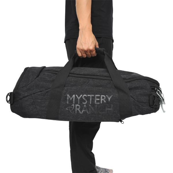 ミステリーランチ MYSTERY RANCH Mission Duffle 40 Black [ミッション][ダッフル][トラベル][旅行][バックパック][3/1 9:59まで ポイント10倍]