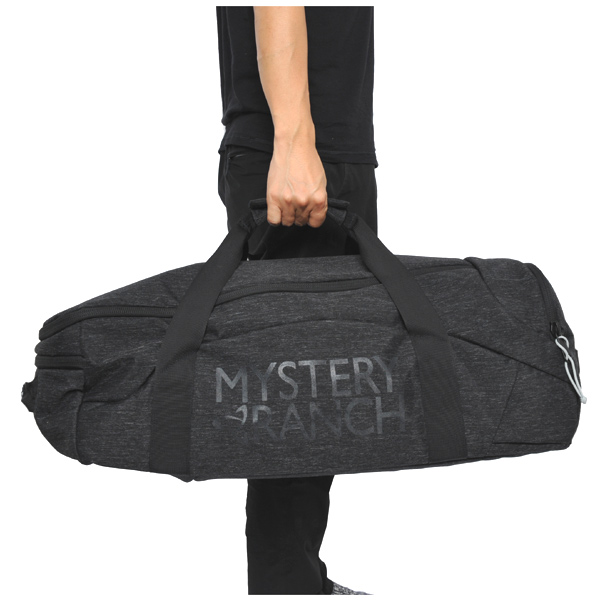 ミステリーランチ MYSTERY RANCH Mission Duffle 55 Black [ミッション][ダッフル][トラベル][旅行][バックパック]