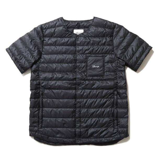 ナンガ NANGA ダウンTシャツ BLK [N1SHBKD1][メンズ][ブラック][2019年新作]
