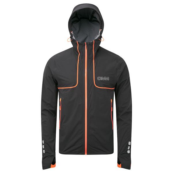 【あす楽対応 平日13:00まで】 OMM Kamleika Race Jacket Black [カムレイカレースジャケット][ソフトシェルジャケット][ブラック][完全防水][ザオリジナルマウンテンマラソン][11/16 9:59まで ポイント5倍]