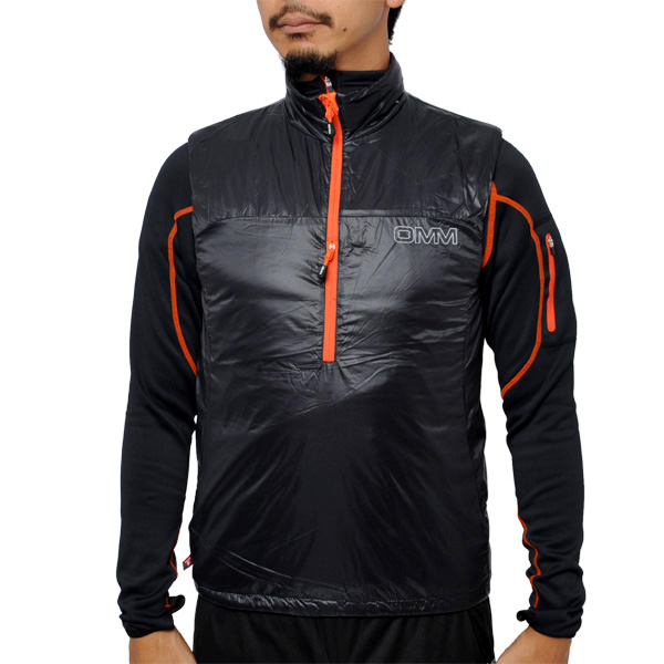 OMM Rotor Vest Black [ローターベスト][中綿][インシュレーション][ザオリジナルマウンテンマラソン]