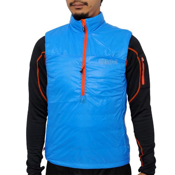 OMM Rotor Vest Blue [ローターベスト][中綿][インシュレーション][ザオリジナルマウンテンマラソン]