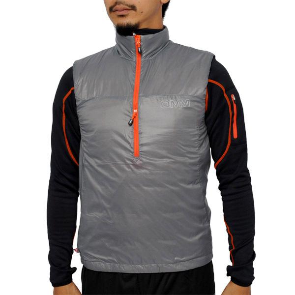 【あす楽対応 平日13:00まで】 OMM Rotor Vest Gray [ローター][ベスト][中綿][インシュレーション][ザオリジナルマウンテンマラソン]