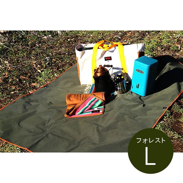 防水加工が施されたグランドシート オレゴニアンキャンパー Oregonian Camper WP Ground 予約販売 期間限定で特別価格 防水 グラウンドシート Lサイズ Sheet Forest OCA-501