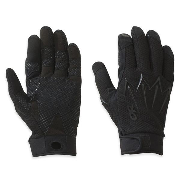 到要點10倍的3/15 11:59戶外研究OUTDOOR RESEARCH Halberd Sensor Gloves Black[haribado][感應器][手套][手套][戰鬥手套][皮革]