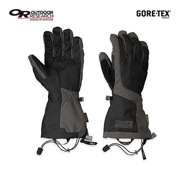 アウトドアリサーチ OUTDOOR RESEARCH Mens アレートグローブ ブラック/チャコール [アルペングローブ][防風断熱][手袋][メンズ][4/8 9:59まで ポイント10倍]
