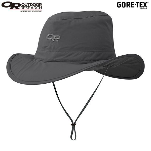 アウトドアリサーチ OUTDOOR RESEARCH Ghost Rain Hat Charcoal [ゴーストレインハット][帽子][GORE-TEX][ゴアテックス][防水透湿][レインカバー付き][メッシュ][チャコール]